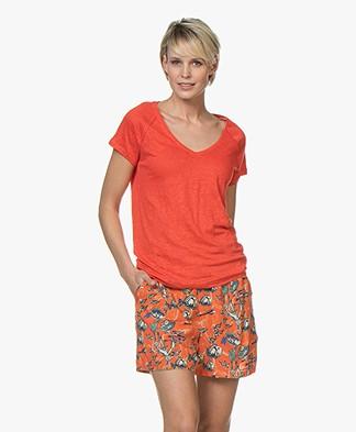 Marie Sixtine Caro Linnen T-shirt - Carmen