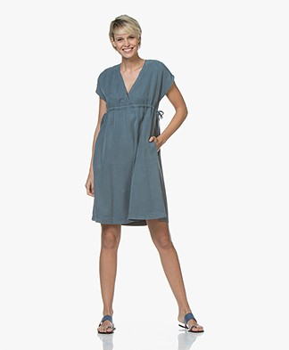 indi & cold Lyocell Dress - Plomo