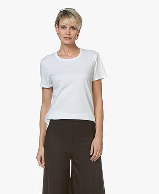 no man's land Modal Blend T-Shirt - White