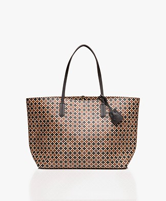 By Malene Birger Abigail Tote Bag - Leafs