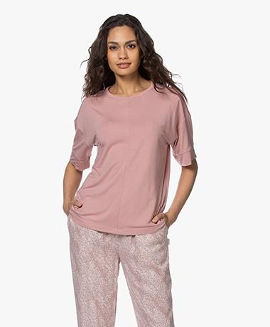 Calvin Klein Modalmix Pyjama T-shirt - Alluring Blush