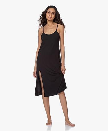 Calvin Klein Modal Jersey Nightgown - Black