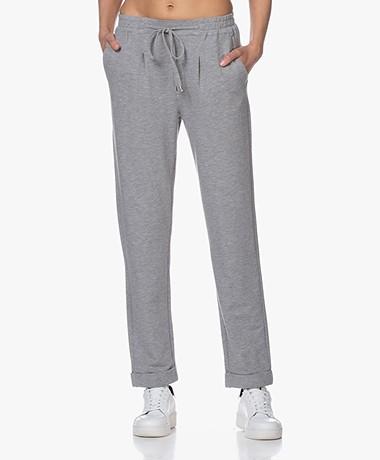 Repeat Modal Blend Sweatpants - Grey Melange