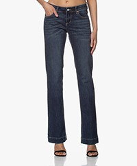 MKT Studio The Janis Wilson Flared Jeans - Blue Adrena