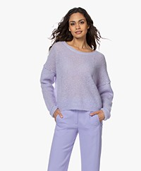 American Vintage Zazow Mohair Blend Sweater - Violet