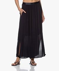 Josephine & Co Blaire Viscose Maxi Skirt - Navy