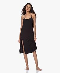 Calvin Klein Modal Jersey Nachtjapon - Zwart