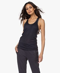 Zadig & Voltaire Ander Tank Top with Coating - Myrtille