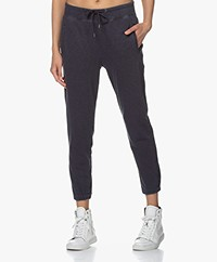 James Perse Fleece Pull On Sweatpants - French Navy