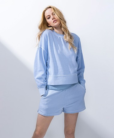 Rails Alice French Terry Sweatshirt - Zen Blue