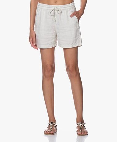 Josephine & Co Brigit Linen Shorts - Stone