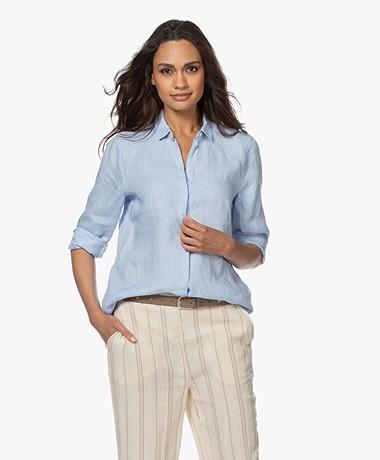Josephine & Co Bern Linen Shirt - Light Blue