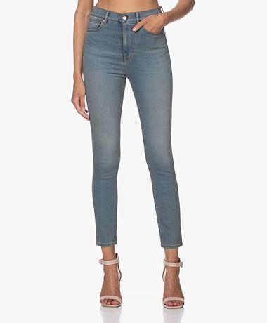 IRO Louv High-waist Skinny Jeans - Light Blue
