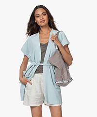 Filippa K Soft Sport Terry Jersey Kimono - Alpha