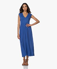 indi & cold Fine Knit Maxi Dress - Cobalt
