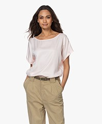 Drykorn Somia Cupromix Blouse - Lichtroze