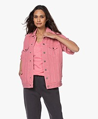 American Vintage Tineborow Denim Jacket - Lychee