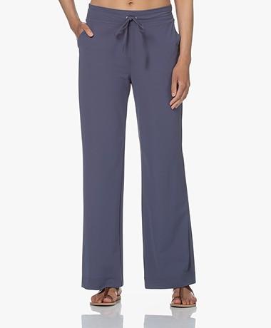 JapanTKY Myza Straight Travel Jersey Pants - Denim