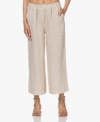 by-bar Ines Linen Loose-fit Pants - Sand