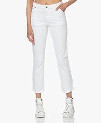 IRO Troka Cropped Jeans - Wit