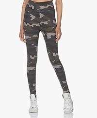 Ragdoll LA Camo Print Legging - Army