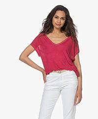 Majestic Filatures Pure Silk T-shirt - Rose Indien