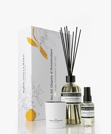 Marie-Stella-Maris Home Fragrance Gift Set - No.92 Objets d'Amsterdam