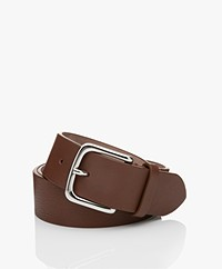 Filippa K Jean Hip Belt - Coconut Brown