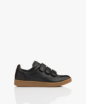Jerome Dreyfuss Run Velcro Sneakers - Black