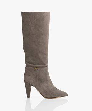 Jerome Dreyfuss Sandie Suede Boots - Grey