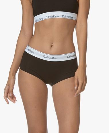 Calvin Klein Modern Cotton Shorts - Black/White