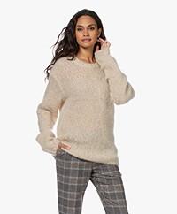 Filippa K Faith Chunky Knitted Mohair Mix Sweater - Mellow Beige