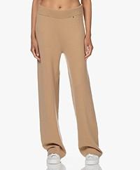 extreme cashmere N°104 Loose-Fit Cashmere Broek - Camel