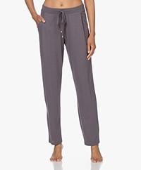 HANRO Sleep & Lounge Jersey Pants - Titanum