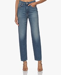 IRO Dame Straight Jeans met Studs - Country Mid Blue