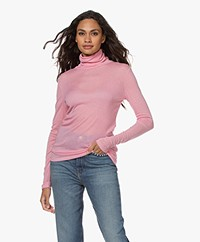 Closed Lyocell Mix Colshirt - Candy Pink