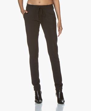 studio .ruig Bries Tech Jersey Pants - Black