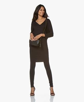 Wolford Pure Cut Dress/Long Sleeve - Black