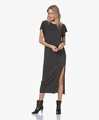 IRO Atoyac Lyocell Jersey Dress - Used Black