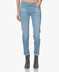 Closed Baker Mid-rise Slim-fit Jeans - Light Blue