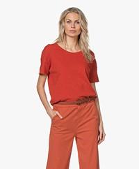 American Vintage Sonoma Boxy T-shirt - Blood Orange