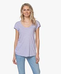 American Vintage Lorkford T-shirt - Violet