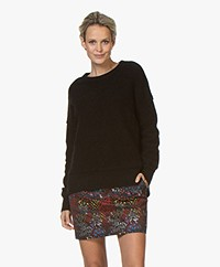 By Malene Birger Biagio Mohair Blend Sweater - Black