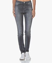 Closed Lizzy Shaper Denim Skinny Jeans - Middengrijs