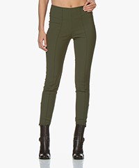By Malene Birger Adelio Slim-fit Pants - Tent Green