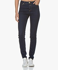 Closed Lizzy Shaper Denim Skinny Jeans - Dark Blue