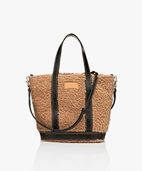 Vanessa Bruno Teddy Shoulder/Hand Bag - Marron Glace