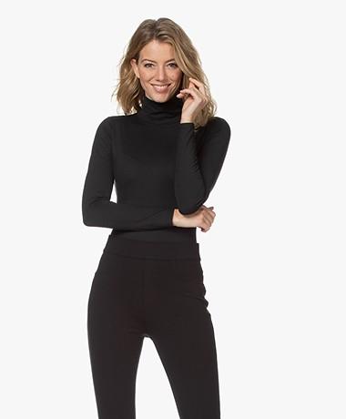 SPANX® Suit Yourself Turtleneck Bodysuit - Classic Black