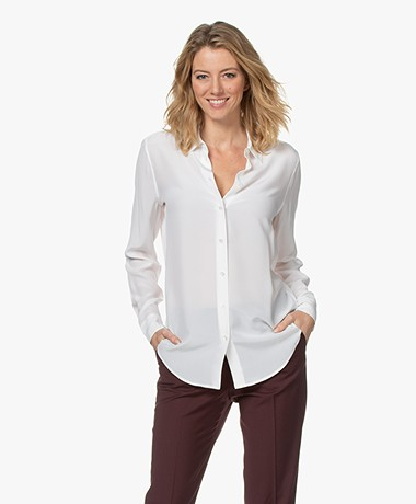 Equipment Essential Silk Blouse - Bright White
