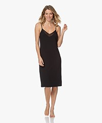 Calvin Klein Modal Jersey Nighshirt - Black
